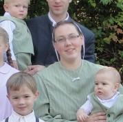 sheila with children